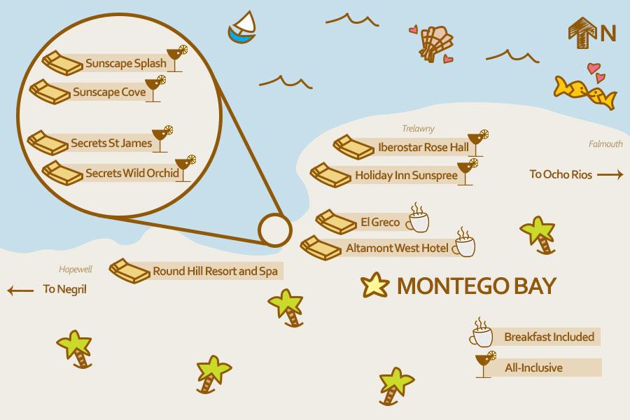 Montego Bay Resort Map