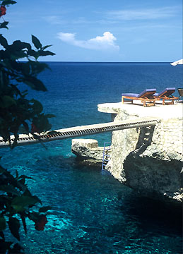 The Pool and Snorkeling Coves -