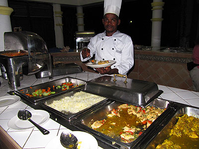 Restaurant and Bar - Beachcomber Club Restaurant Negril Jamaica Resorts and Hotels