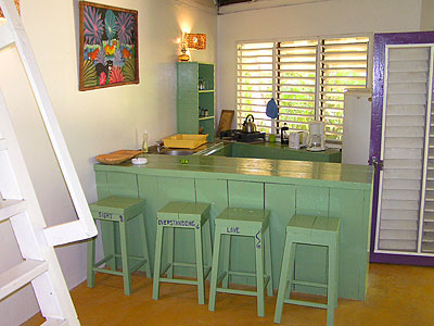 Charming 2 Bedroom Cottage   Bananas Garden 2 Bedroom Cottage Kitchen Negril Jamaica  Resorts And Hotels