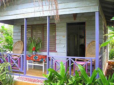 1 Bedroom Cottages - Bananas Garden 1 Bedroom Cottage exterior Negril Jamaica Resorts and Hotels