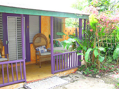2 Bedroom Cottage - Bananas Garden 2 Bedroom Cottage exterior Negril Jamaica Resorts and Hotels