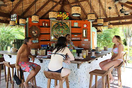 Restaurant, Beach Bar and Wifi Lounge - Country Country Beach - Negril, Jamaica Resorts and Hotels