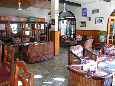 Dining Room, Lounge and Patio - Charela Inn - Negril Resorts and Hotels, Jamaica