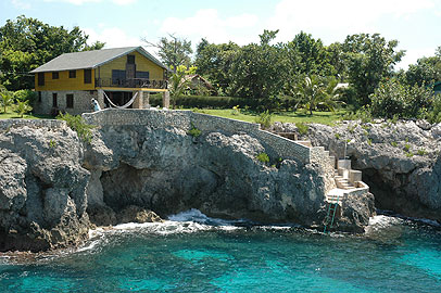 Cove House - Citronella Cove House exterior, Negril, Jamaica Resorts and Hotels