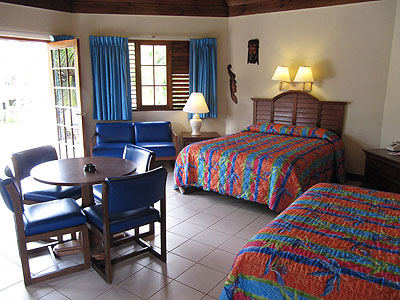Coco Junior Suite - Coco La Palm Jr. Suite Two Queens - Negril, Jamaica Resorts and Hotels
