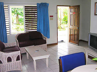 Coco La Palm One and Two Bedroom Suites - Coco La Palm Two Bed Suite Living - Negril, Jamaica Resorts and Hotels