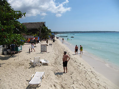 Beach - Negril Palms, Negril Jamaica Resorts and Hotels