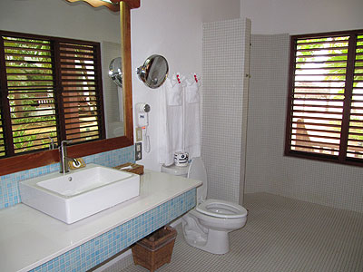 Beach Front Suite - Couples Swept Away Beach Front Suite Bathroom - Negril, Jamaica Resorts and Hotels