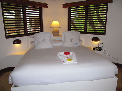 Beach Front Suite - Couples Swept Away Beach Front Suite Bedroom - Negril, Jamaica Resorts and Hotels
