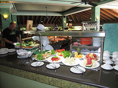 Dining - Couples Swept Away Buffet - Negril, Jamaica Resorts and Hotels