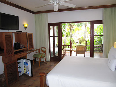 Verandah Suites (Garden, Ocean and Beach Front) - Couples Swept Away Veranda Suite Interior - Negril, Jamaica Resorts and Hotels