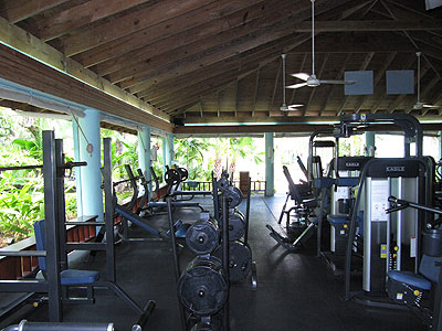 Sports and Fitness Centre - Couples Swept Away Gym - Negril, Jamaica Resorts and Hotels