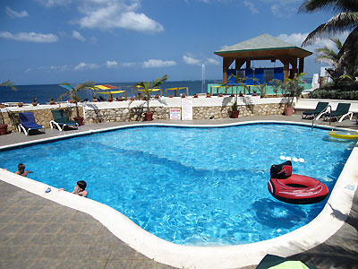 Pools, Sea entrances and Snorkeling - Samsara Hotel Pools - Negril Jamaica Resorts and Hotels