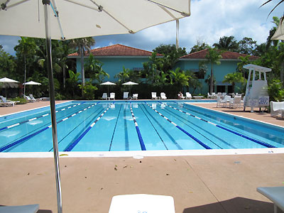 Sports and Fitness Centre - Couples Swept Away Pool - Negril, Jamaica Resorts and Hotels