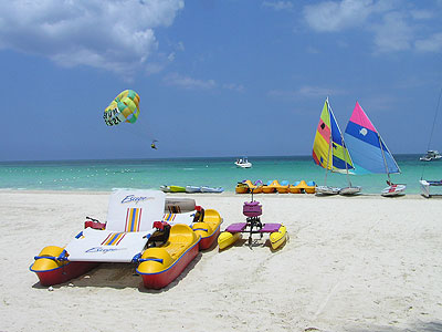 The Beach - Couples Swept Away Water Toys - Negril, Jamaica Resorts and Hotels