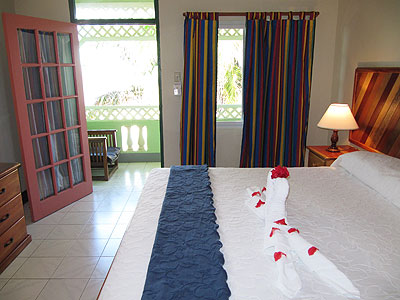 Ocean View Rooms - Samsara Hotel - Negril, Jamaica Resorts and Hotels