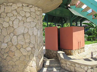 Ocean Front Pillar House Cottages - Samsara Hotel - Negril, Jamaica Resorts and Hotels