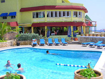 Pools, Sea entrances and Snorkeling - Samsara Hotel Pool - Negril Jamaica Resorts and Hotels