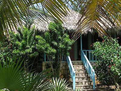 Ocean View Cottages - Samsara Hotel Sea Side Cottage Exterior - Negril Jamaica Resorts and Hotels