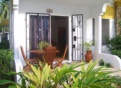 Other Side (2 Bedroom Duplex Villa) - SeaSand Eco Villas - Negril Jamaica Resorts and Hotels - Morning Side Entrance