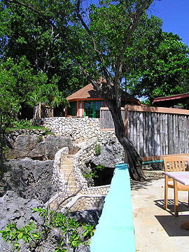 Cottages #5 - Xtabi Cottage #5 exterior, Negril Jamaica Resorts and Hotels