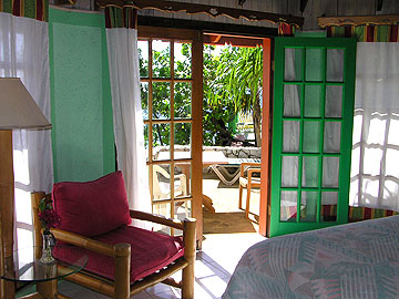 Cottages #5 - Xtabi Cottage #5 interior,Negril Jamaica Resorts and Hotels