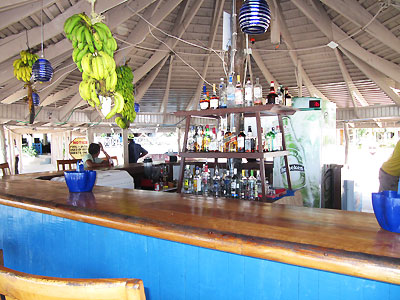 Beach and Beach Bar -