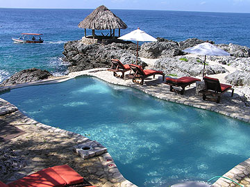 The Pool and Snorkeling Coves - Tensing Pen Pool, Negril Jamaica Resorts and Hotels