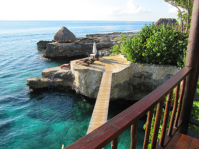 South Pillar Interior and View - Tensing Pen - Negril Jamaica Resorts and Hotels