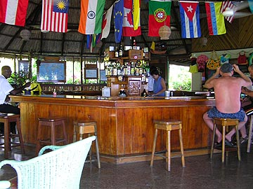 The Bar and Restaurant - Xtabi Bar, Negril Jamaica Resorts and Hotels