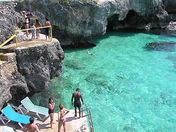 Xtabi Snorkelling & Swim Cove, Sunning Areas and Grounds - Xtabi Snorkelling Cove, Negril Jamaica Resorts and Hotels