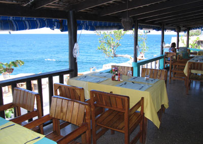The Bar and Restaurant - Xtabi Seaside Restaurant, Negril Jamaica Resorts and Hotels