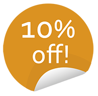 10 Percent Off Tours Sticker ANY ONESTOP TOUR when you book Grand Palladium with us!