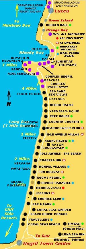 Beach Resorts Negril Resorts Negril Onestop Jamaica Resorts and