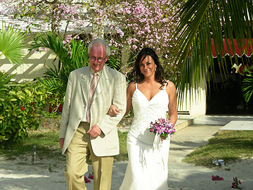 Charela Dad And Daughter Walking Down The Aisle