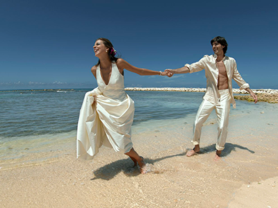 Grand Palladium Jamaica Wedding Couple Love Birds Package