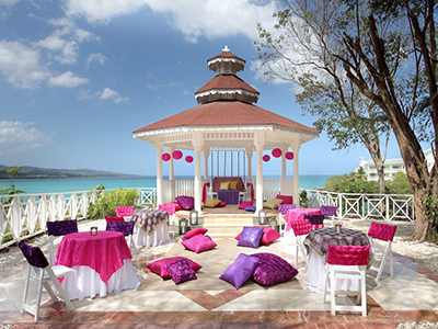 Grand Palladium Jamaica Wedding Goddess Mehndi Gazebo Goddess Mehndi Party