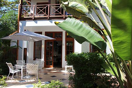 Idle Awhile Villas 2 bed  entrance   jan 2016 Mango (Two Bedroom) Garden View Villa
