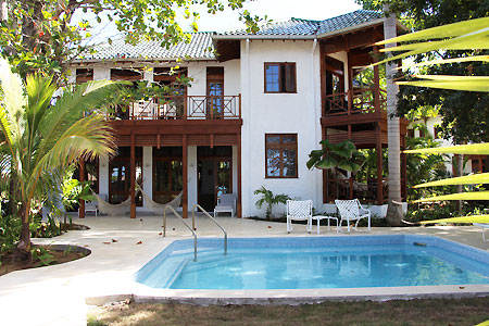 Idle villa 5 bed pool to ext jan 2016 Cottonwood (Five Bedroom) Beach View Villa