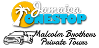 Jamaica Onestop and Malcolm Brothers Logo Small Private Combination Tours