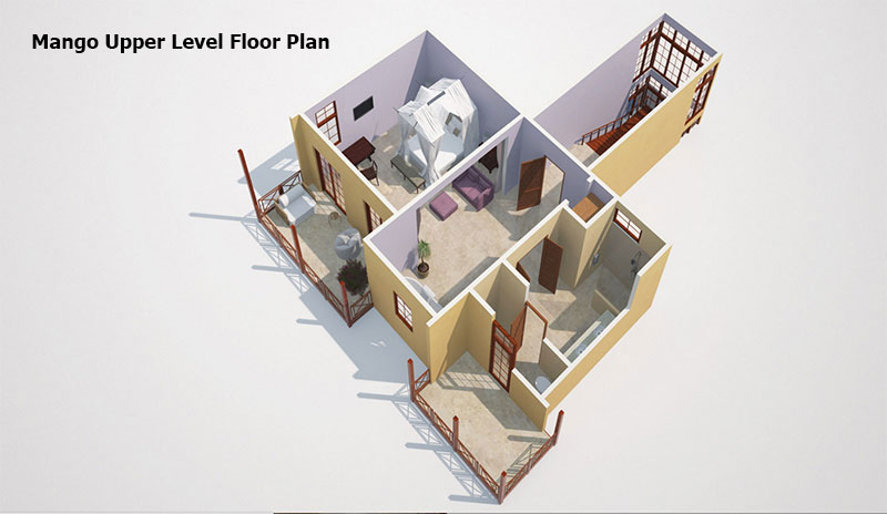 Mango Upper level  Floor Plan