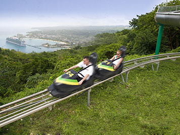 Mystic Mountain Adventure Tours Bobsled with View