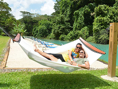 River Bumpkin Farm Hammock Couple Break Adventure