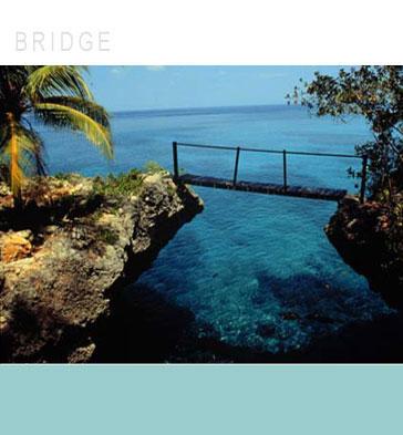Rock House Bridge For Wedding Ceremony