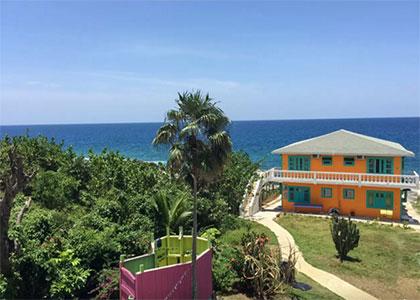 Somewhere West Negril Jamaica Aerial View