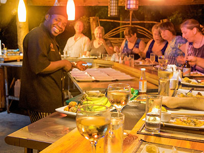 Zimbali Retreat Farm Tour Cooking Studio Meals