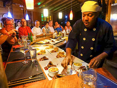 Zimbali Retreat Farm Tour Cooking