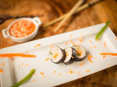 Zimbali Retreat Farm Tour Sushi