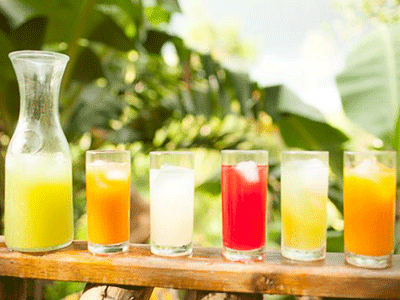 Zimbali Retreat Fresh Juice Fresh Fruit